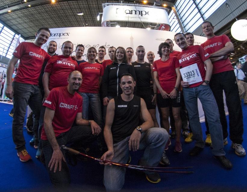 Team Compex Marathon de Paris 2014